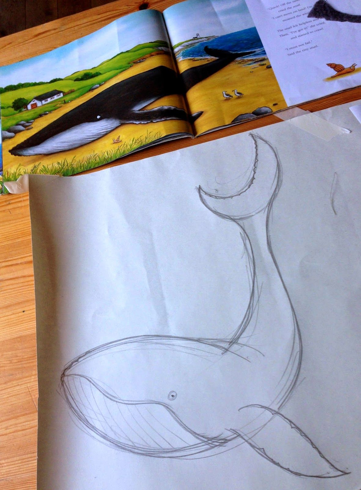 Finn was quite adamant that Julie Donaldson\'s \' Snail and the Whale ...
