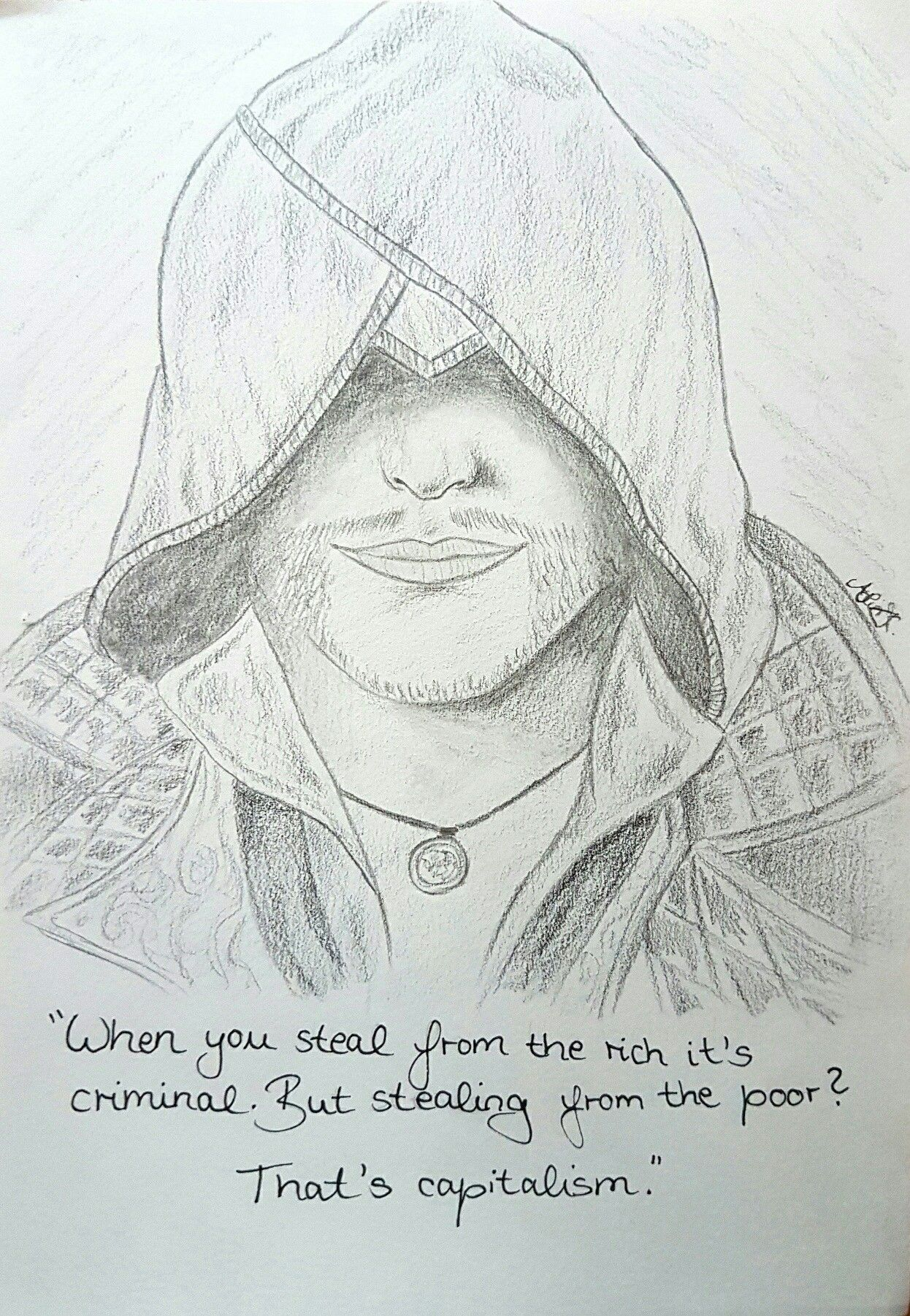 A quick sketch from Jacob Frye (Assassin's Creed: Syndicate)