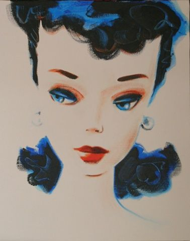 I want a barbie painting for her, they are so awesome