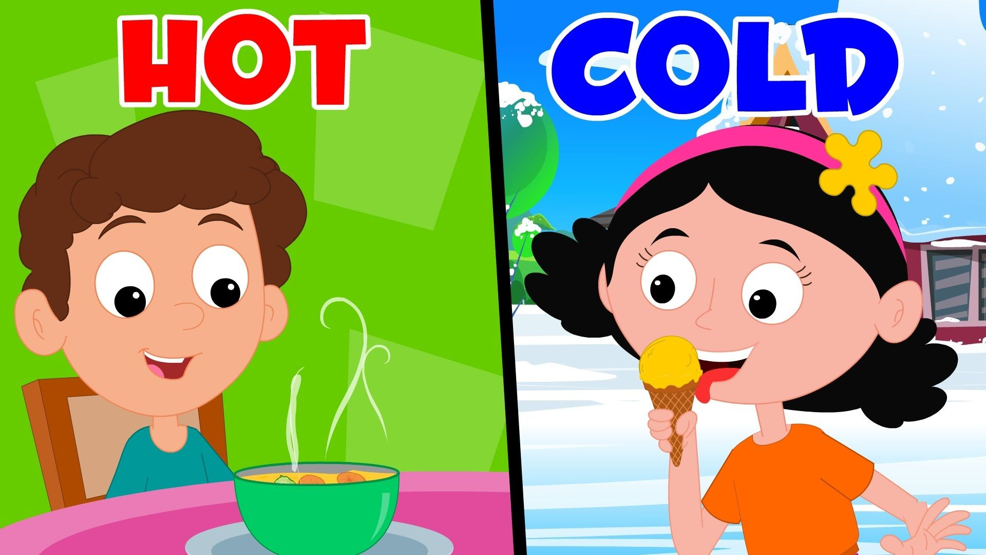 Opposites Song | Preschool Nursery Rhymes For Children | Concepts ...