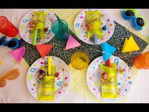 تحضير سفرة عيد الميلاد للأطفال Birthday Parties تعرفي على طرق تزيين سفرة عيد الميلاد بشكل يحبه الأطفال بخطوات بسيطة وب Birthday Parties Crafty Birthday