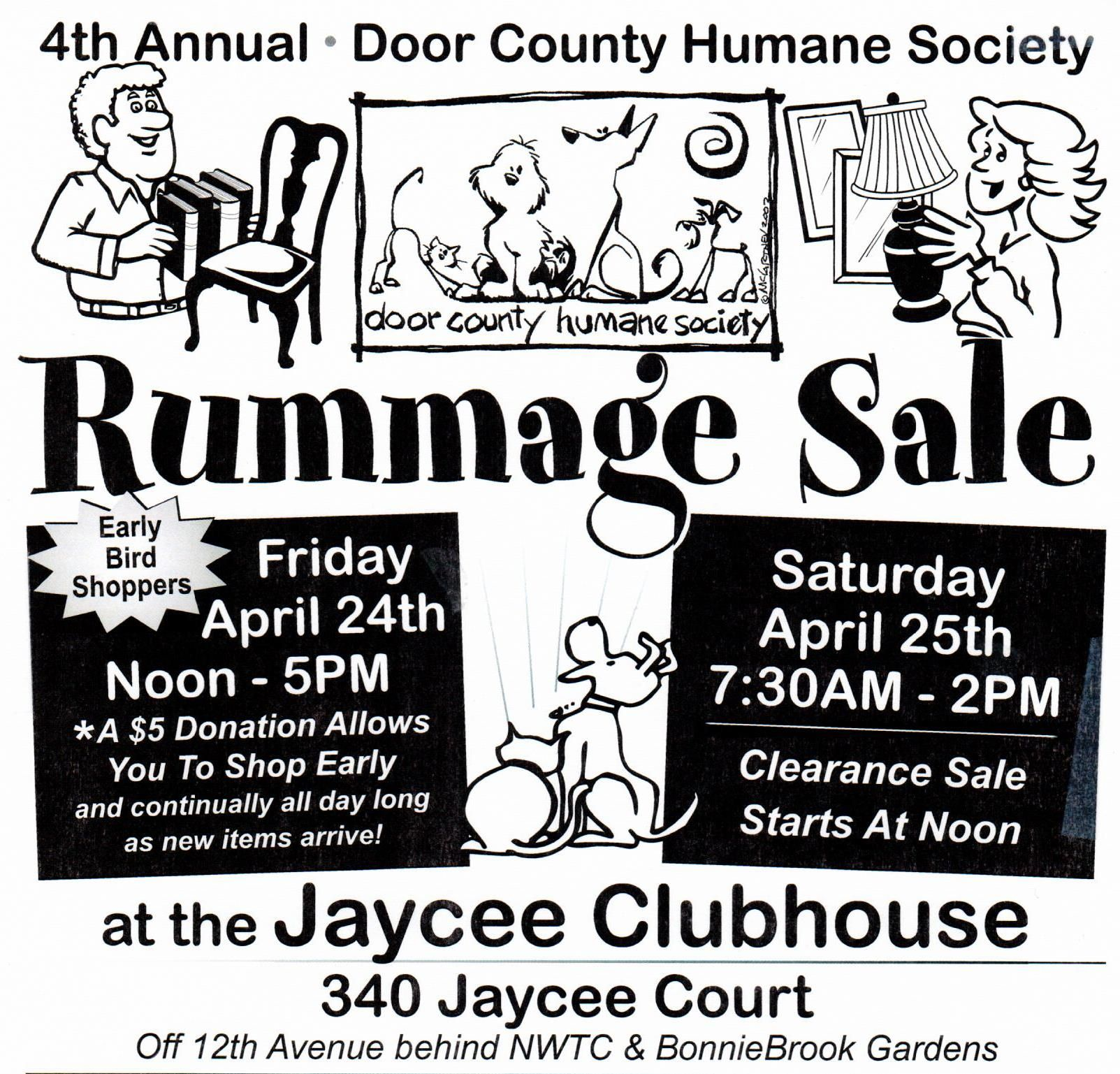 Support the Door County Humane Society by shopping or donating to