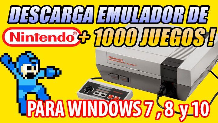 Descarga Emulador De Nintendo Nes Para Pc 1000 Juegos Chistes