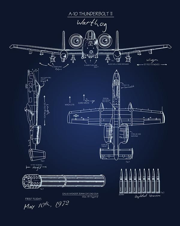 A-10 Blueprint Art - SP Blueprint art, Art posters and Check - new blueprint gun art