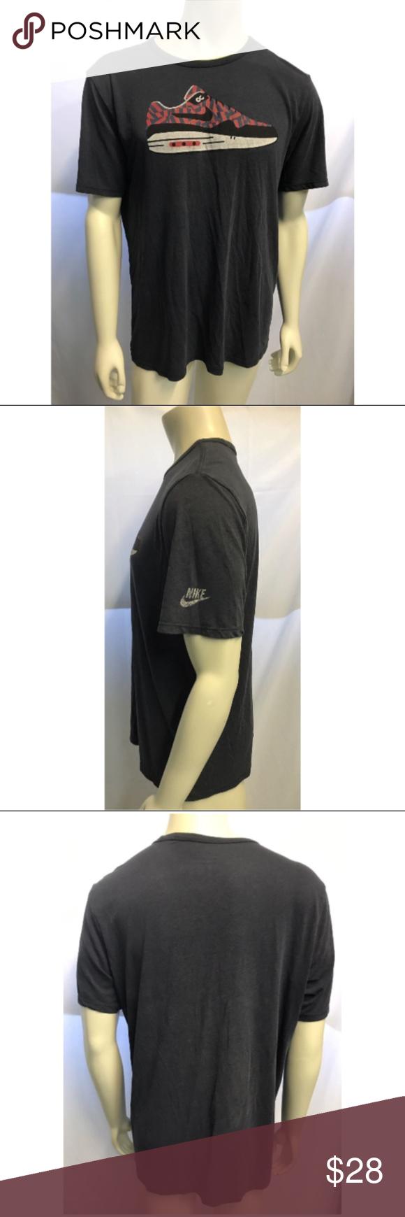 Men's Vintage Nike Air Max 1 Athletic T Shirt XL