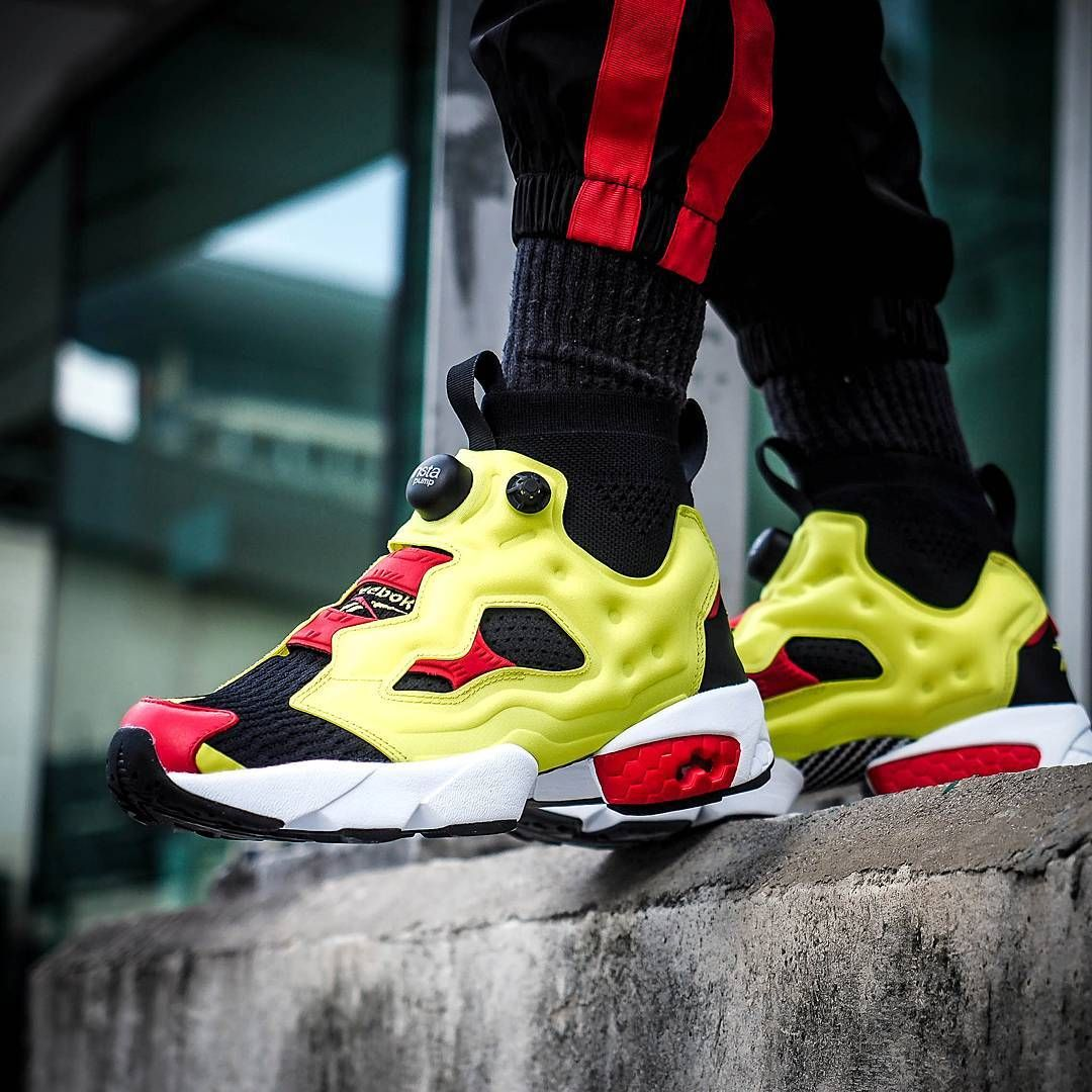 09e1343f #OnFeet with Reebok Instapump Fury OG Ultraknit. Easy slip on and  comfortable with knit