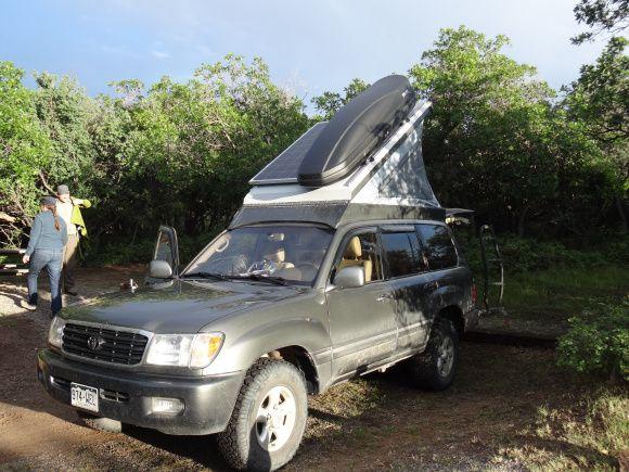 Toyota 4-Runner camper conversion   ☆ Start Your Engines