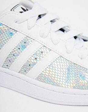 Enlarge Adidas Originals Superstar II Metallic White