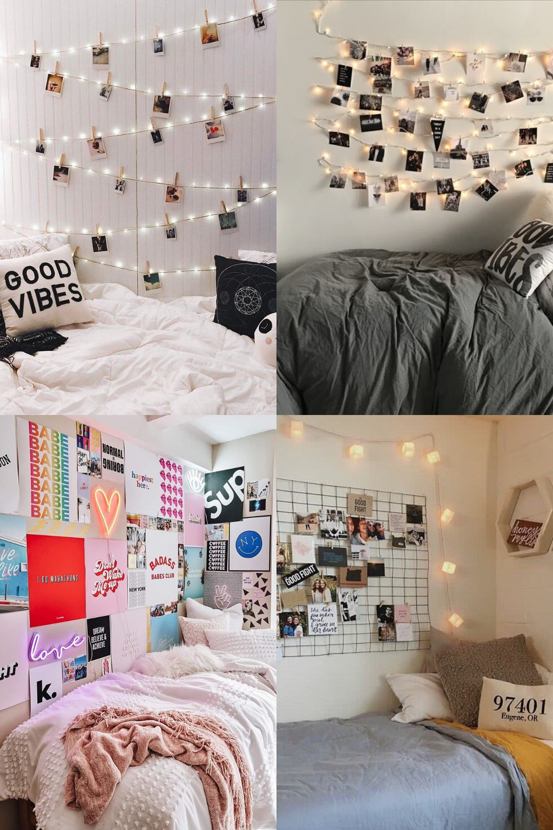 10 Photo Wall Collage Ideas for Your Bedroom - Its Claudia ...