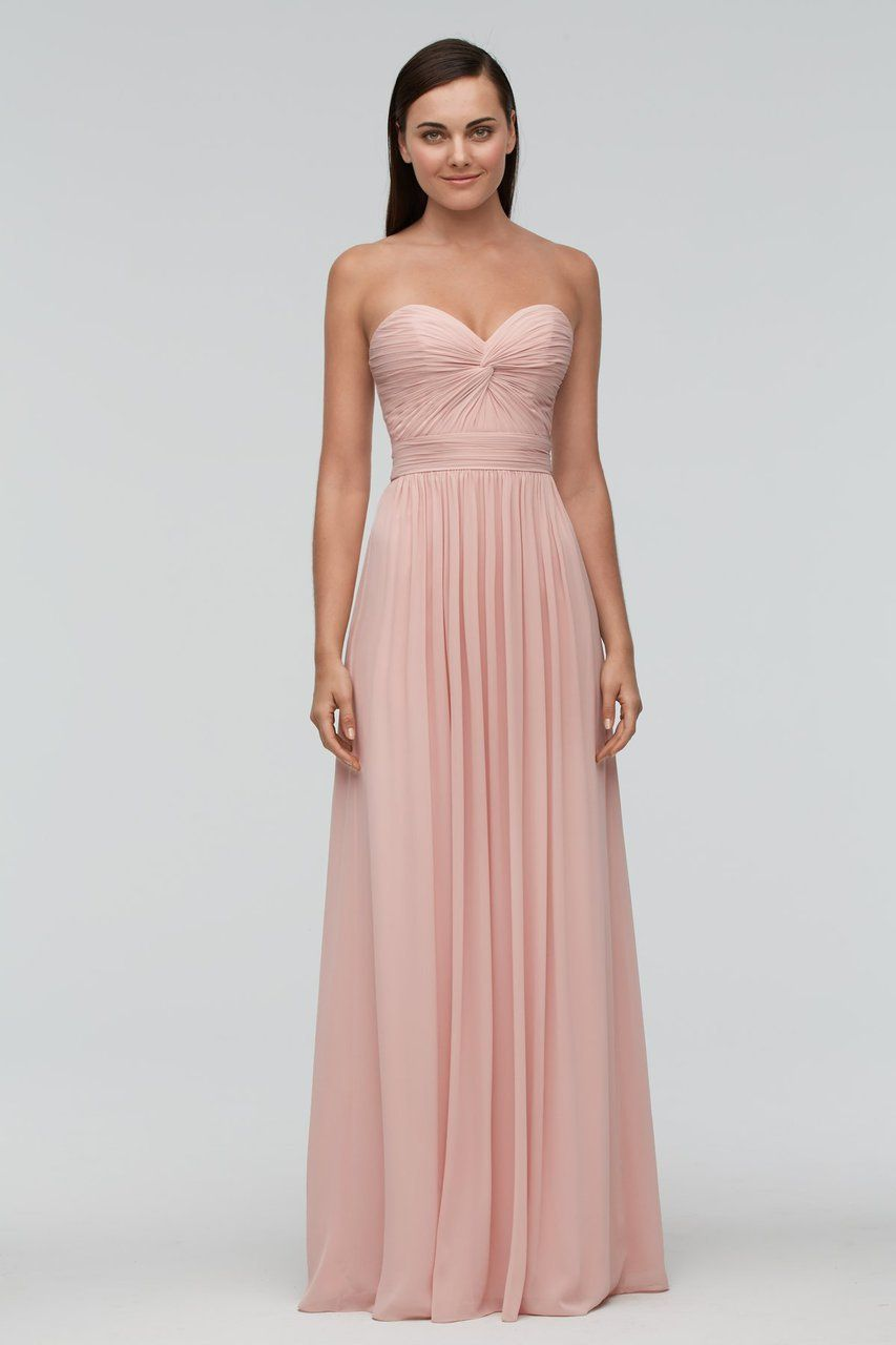 Watters bridesmaid dress annie in wedding dress and