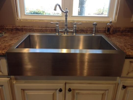 KOHLER Vault Drop-in Farmhouse Apron-Front Stainless Steel 36 in ...