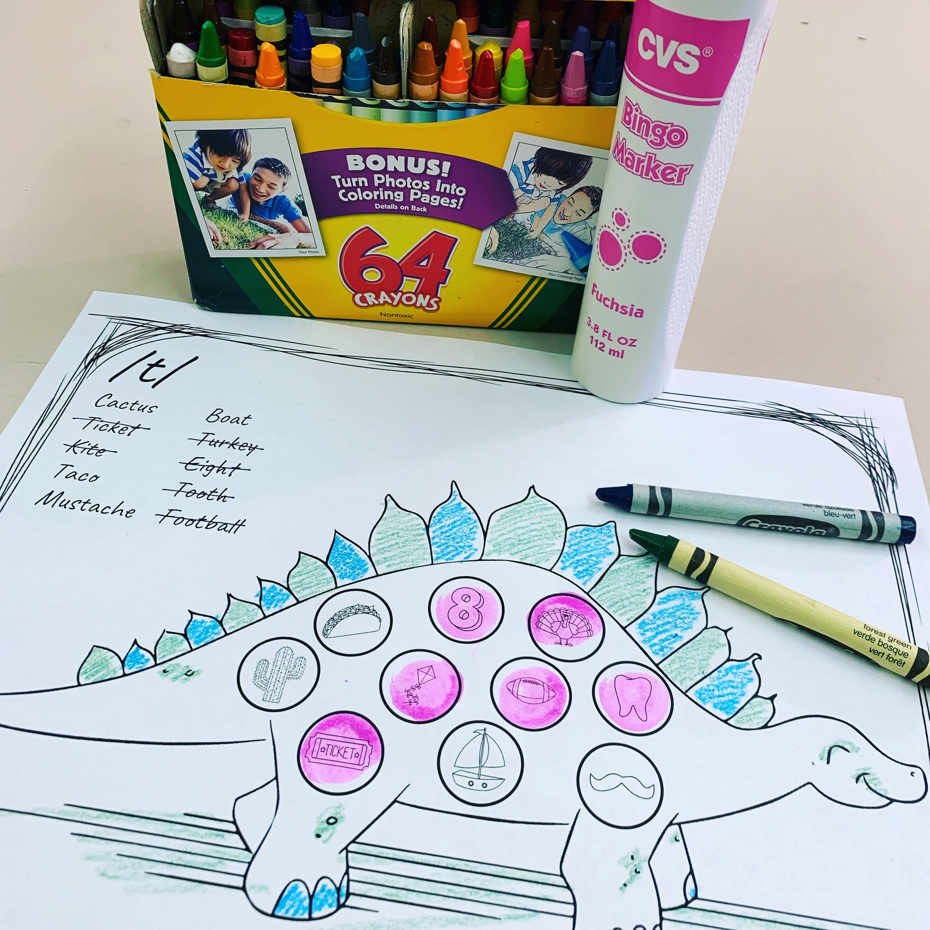 No Prep Dinosaur Articulation Coloring All Sounds With