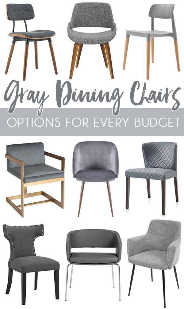 Affordable And Modern Gray Dining Chairs Diy Home Decor