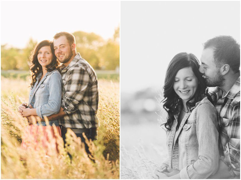 Richelle & Dakota | Fall Couples Photoshoot | Edmonton & Sherwood Park Photographer | Kristilee Parish Photography