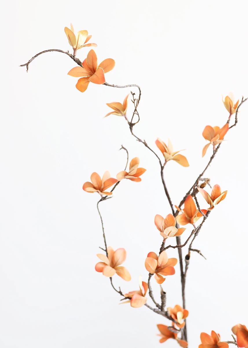 Autumn Artificial Blossom Branch Fall Silk Flowers At Afloral Com Flower Branch Blossom Flower Flower Aesthetic
