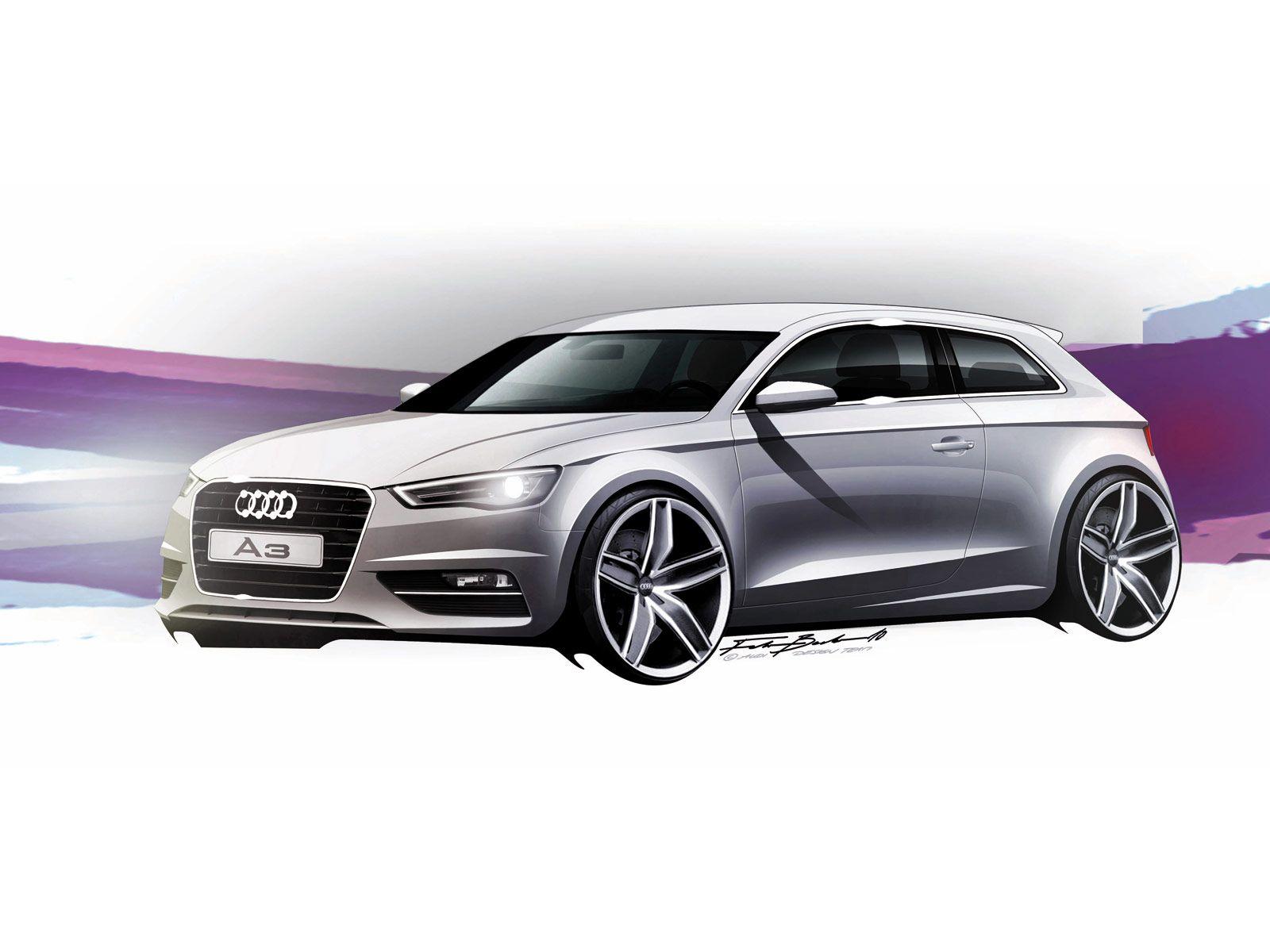 Audi A3 - Design Sketch