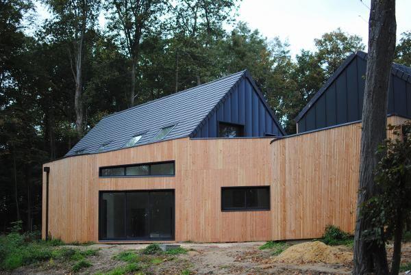 Photo supplémentaire Maison ossature bois design à Paris, Seine et