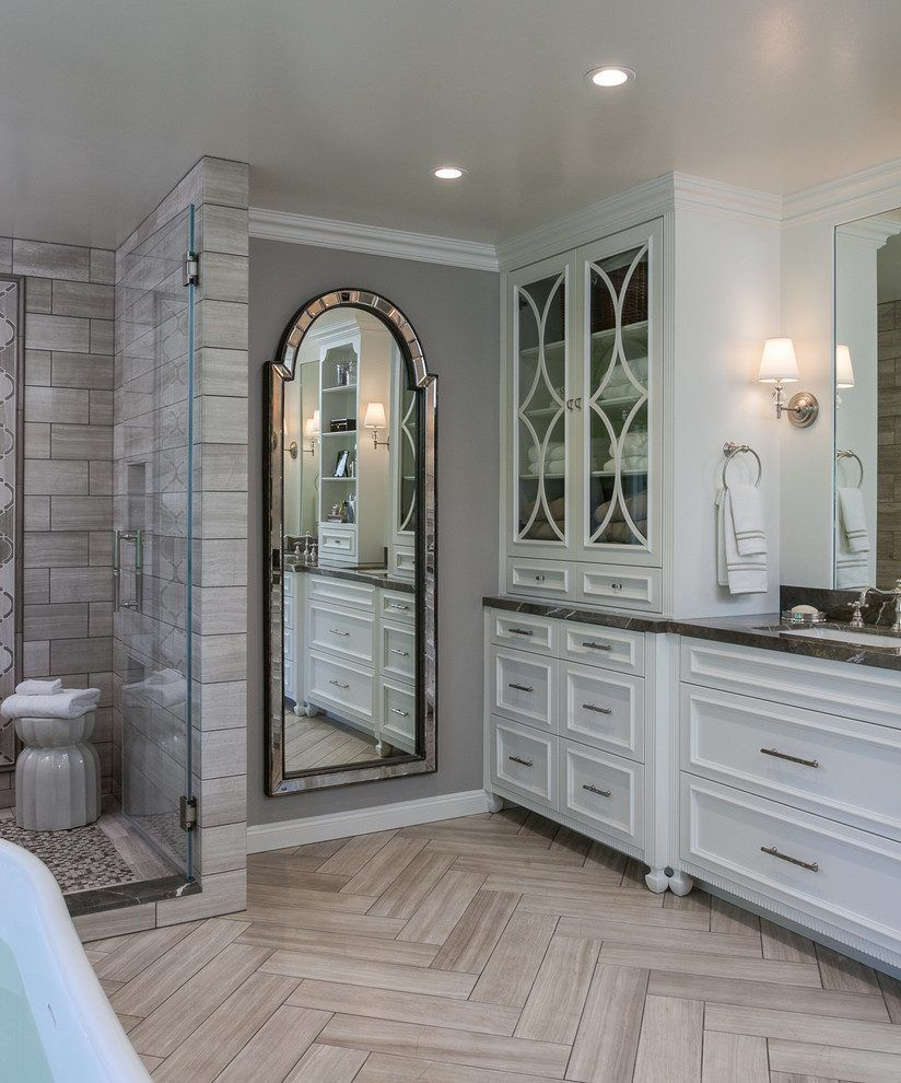 benjamin moore ocean bathroom san francisco with hardwood