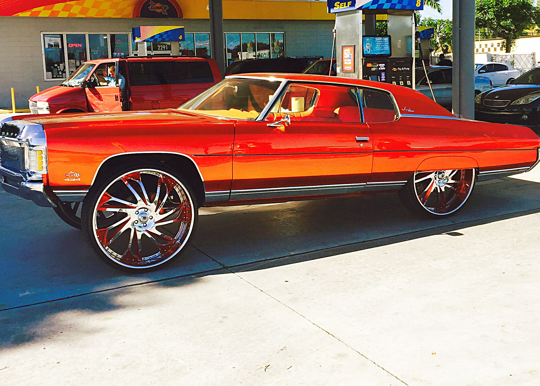 1972 Impala Donk Hard top Squat Stance | Donks | Donk cars