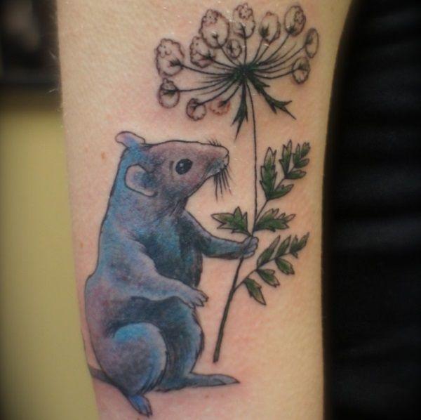 Pet Rat Tattoo Rat Tattoo Tattoos Tattoo Designs