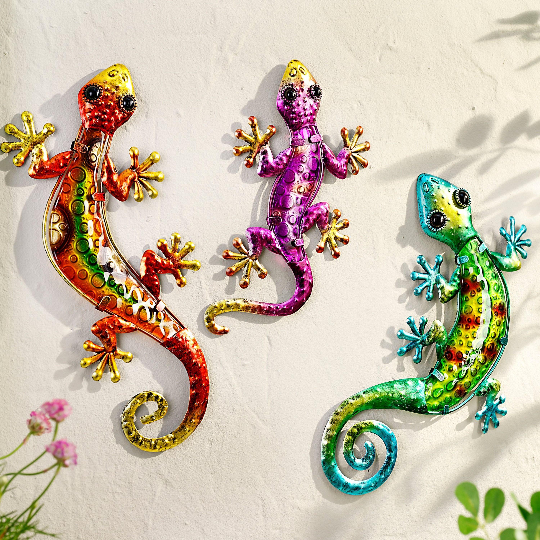 wanddeko salamander 3er set jetzt bei weltbild de bestellen deko trends wanddekoration pinterest schlafzimmer ideen