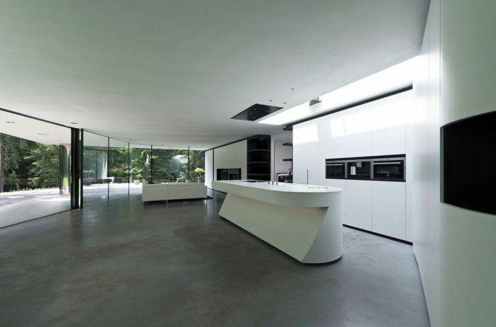 moderne k chen machen die k chenarbeit zu einem einmaligen erlebnis cuisine pinterest. Black Bedroom Furniture Sets. Home Design Ideas