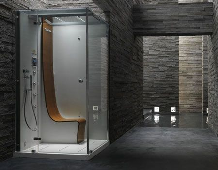 Pininfarina Is Not Just About Cars Steam Shower Cabin Shower