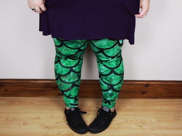 Kitty Rambles A Lot: CowCow Mermaid Leggings*