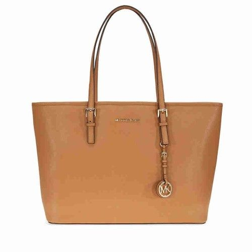 Michael Kors Jet Set Medium Travel Saffiano Leather Tote