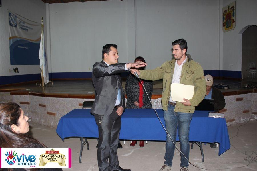Toma protesta el Lic. Andres Garcia Sanchez como Secretario de Acción Juvenil Arandas. | Vive Arandas, Jalisco, La Revista Electrónica