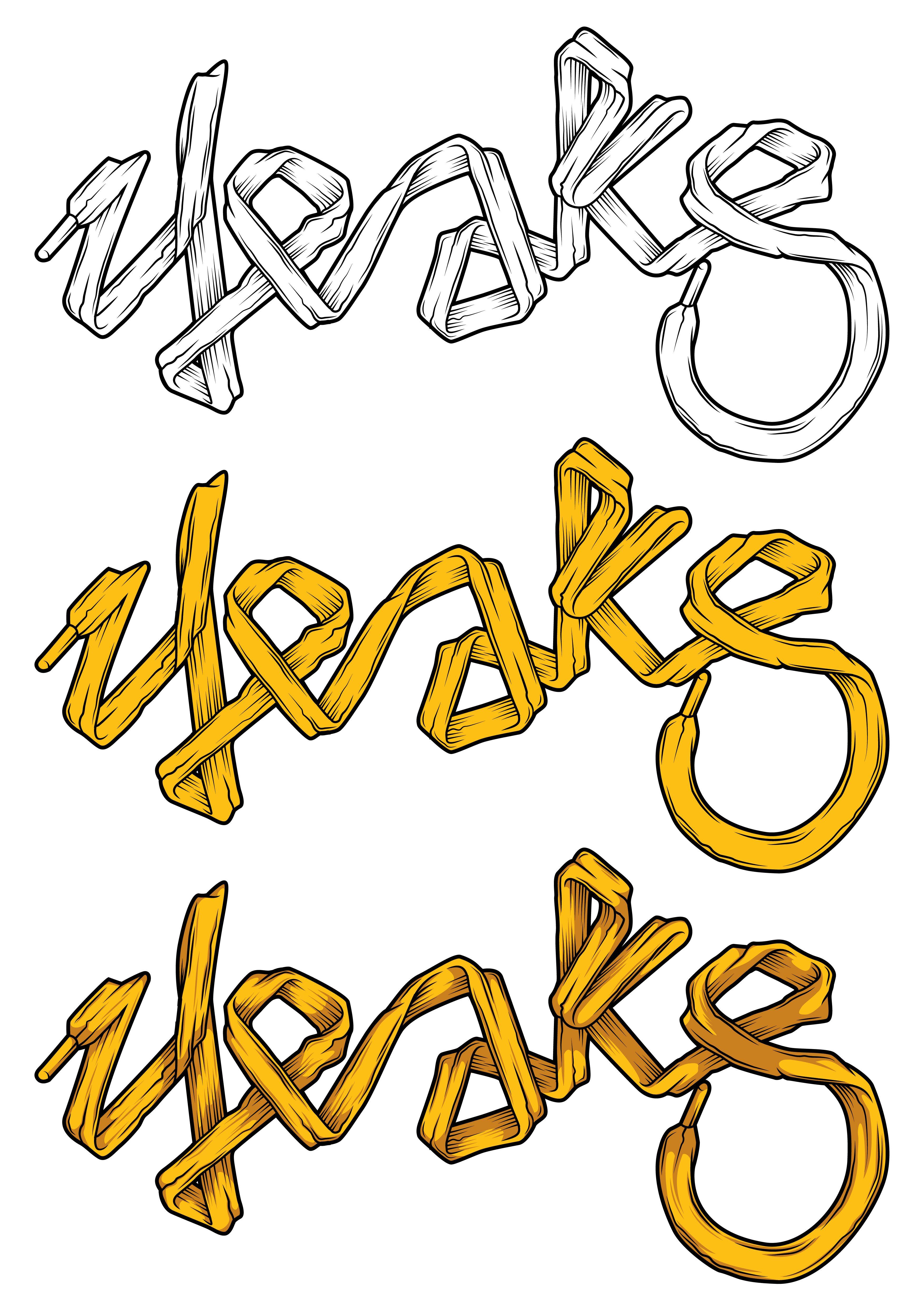 """yeaks"" shoe lace font... Tshirt design inspiration"