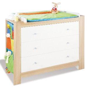 New Komplett Kinderzimmer SIGIKID gro tlg Kinderbett Wickelkommode breit und
