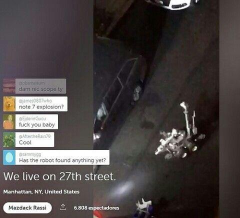 Periscope: @mazdackrassi Robot Policía Encuentra el Segundo Artefacto Explosivo en NY http://ow.ly/mhgj304k6Ae