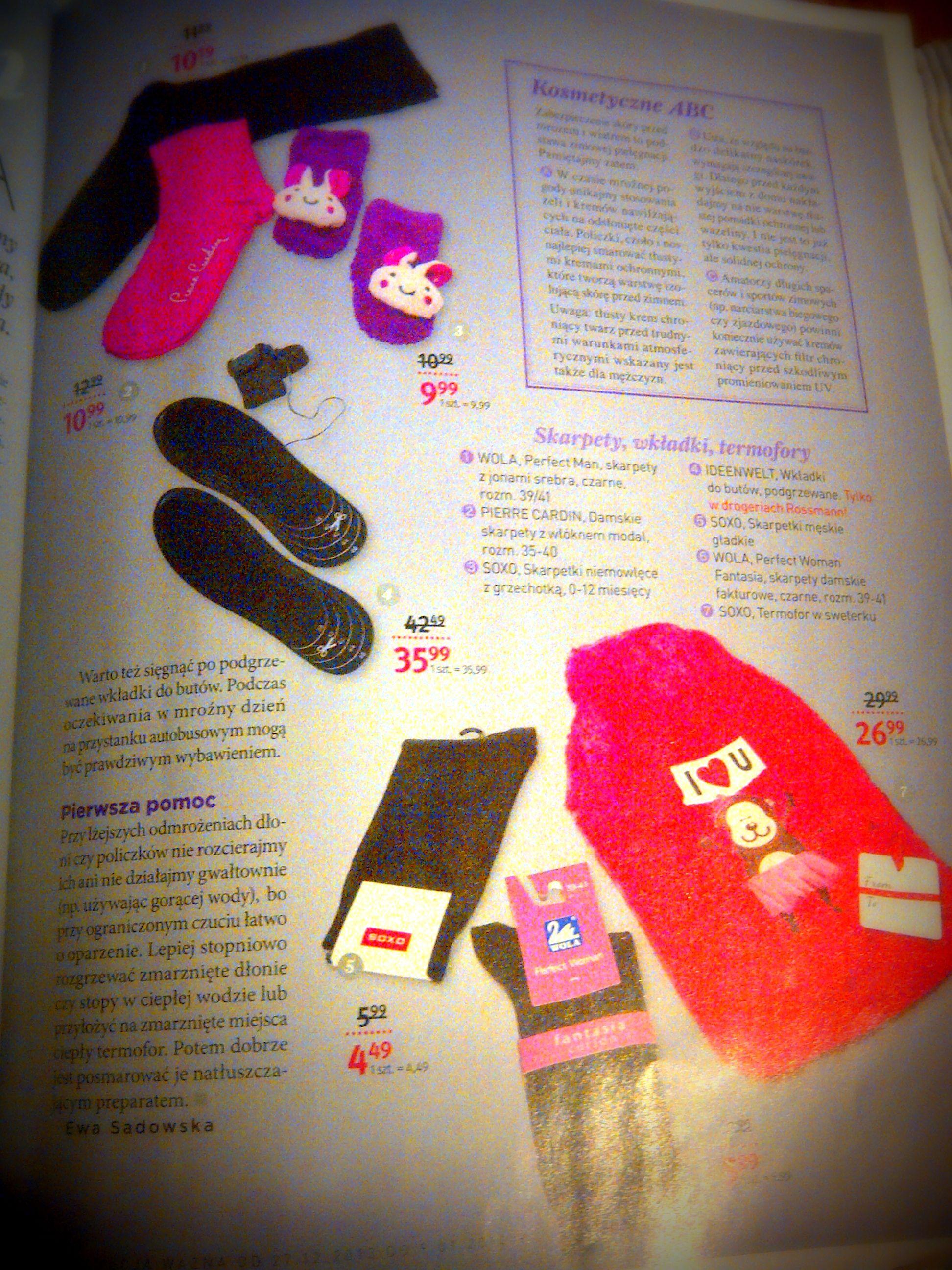 Our Socks In The Paper Paper Socks