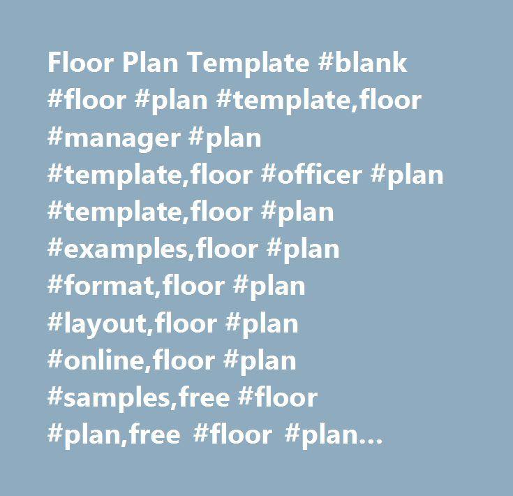 Floor Plan Template Blank Floor Plan TemplateFloor Manager