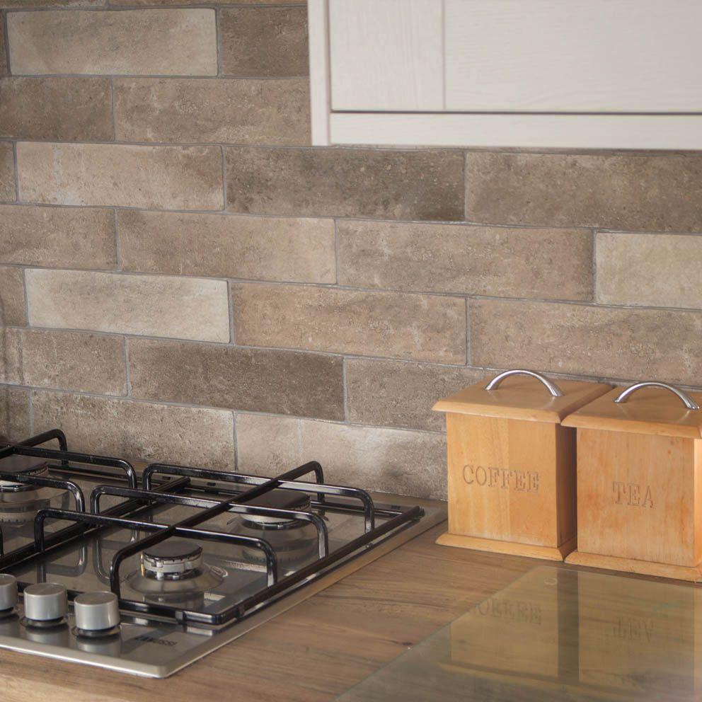 London Sand Brick Effect Wall & Floor Tiles in 2020 Tile