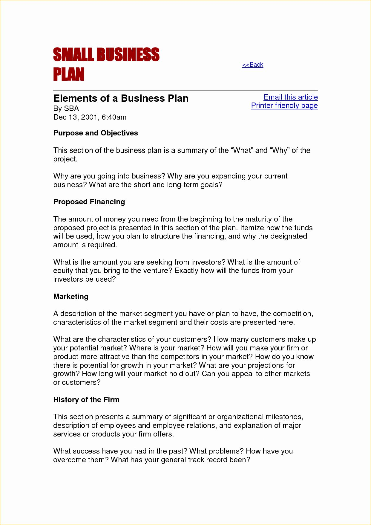 Business Proposal Format Template Elegant Small Business Proposal