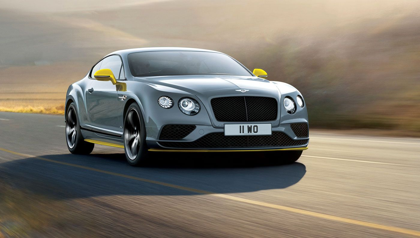 An upgrade to the model-year 2017 Bentley Continental GT Speed has ...