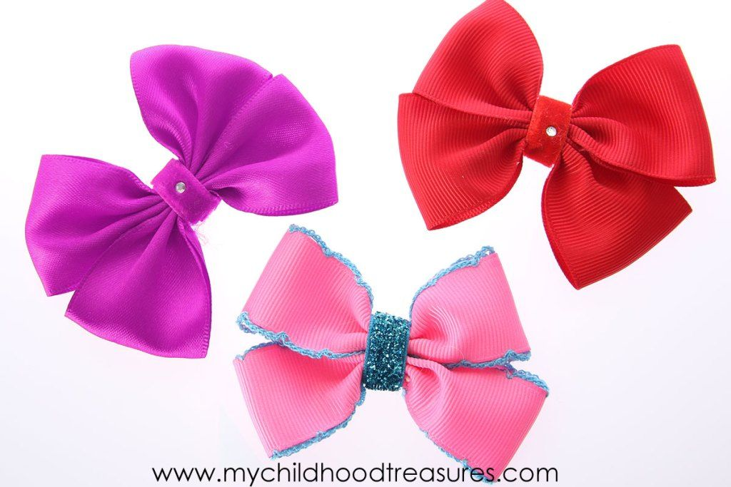 How to Make a Ribbon Bow - EASY Double Bow Tutorial #howtomakeabowwithribbon