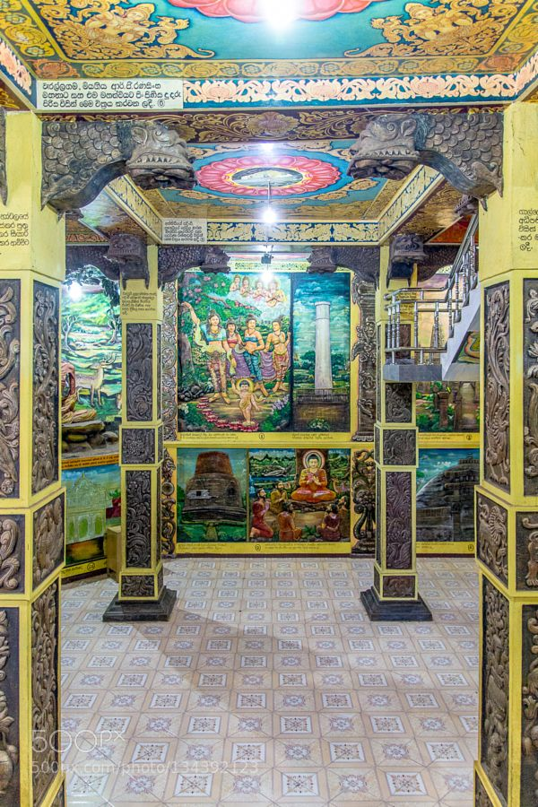 Budda Tempel Beruwela auf Sri Lanka
