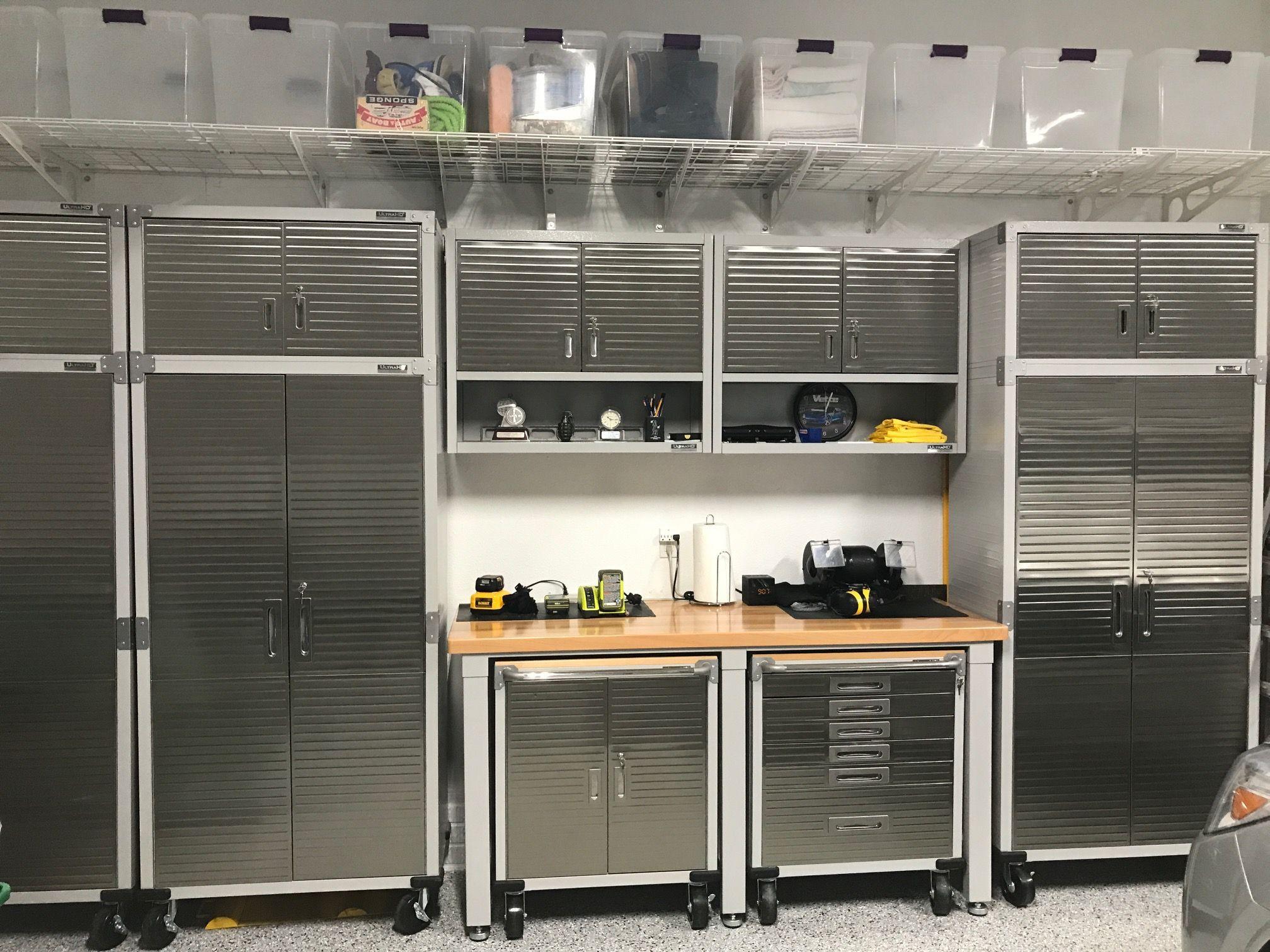 Seville Classics Ultra Heavy Duty Garage Storage Sytem Garage