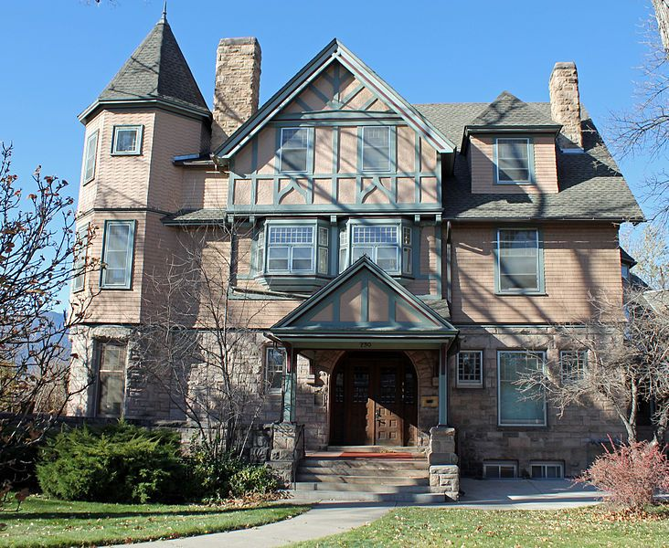 the gwynne love house located at 730 north cascade avenue in rh pinterest com