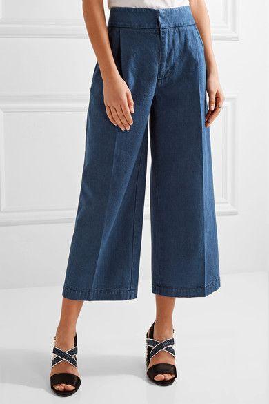 Marni cropped wide leg trousers Buy Cheap Fake Wiki Sale Online Perfect ohq8Zuupk