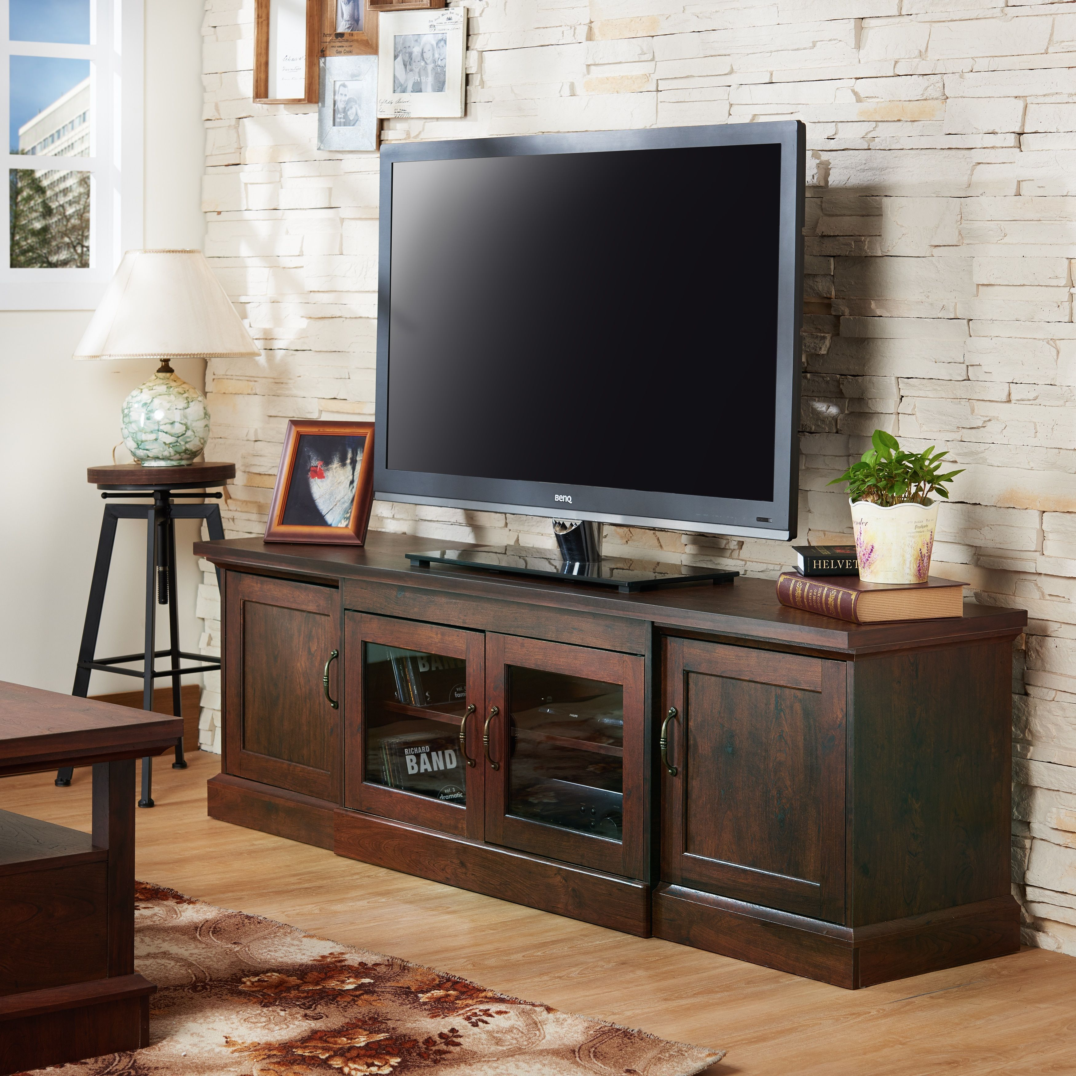 top 10 best wooden tv stands in 2019 tv stand rh br pinterest com