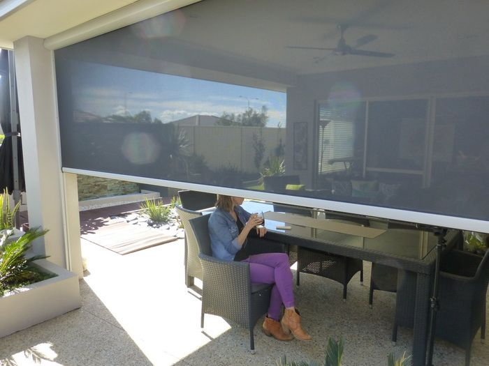 Nu Style Roller Shutters For Alfresco Outdoor Screens For