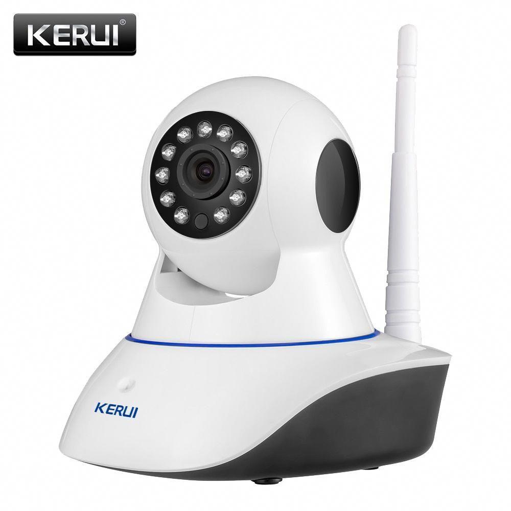 Kerui 720p 1080p Hd Wifi Wireless Home Security Ip Camera Security Network Cctv Surveillance Camera Ir Seguridad Del Hogar Monitor De Bebe Camara De Vigilancia