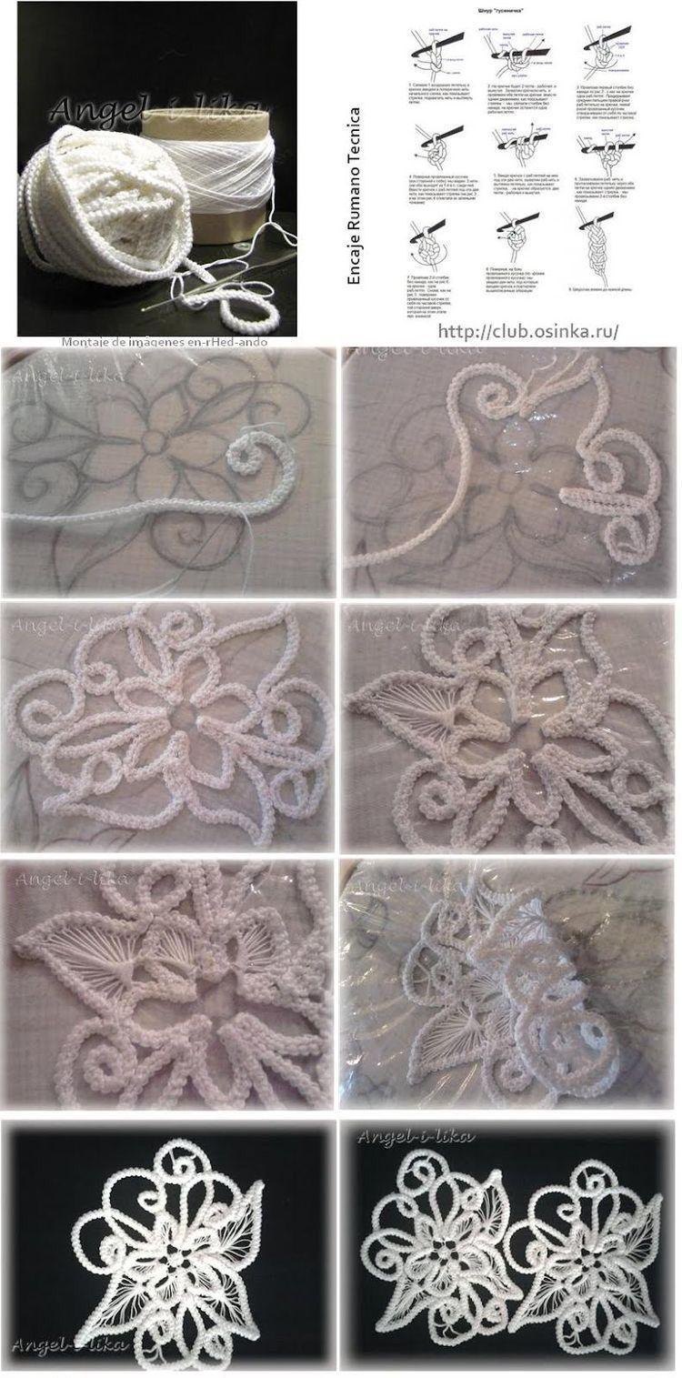 Irisch crochet