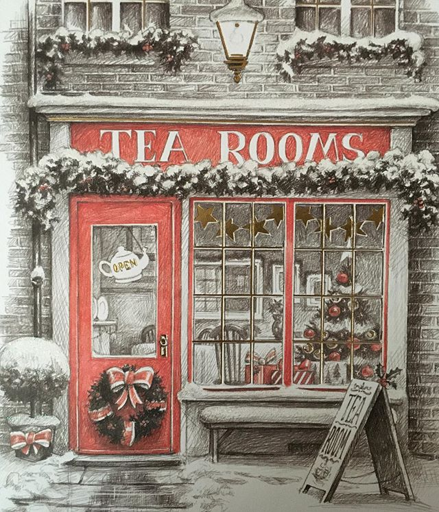 Tonight image is the Christmas card for my mother in law