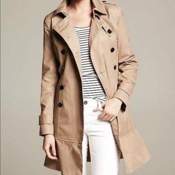 000f7710e6 Banana Republic Jackets & Blazers - Banana Republic Water resistant trench  coat