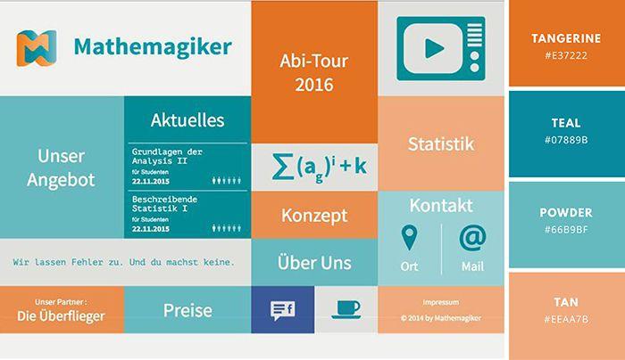 website color schemes 50 color palettes to inspire canva web rh pinterest com